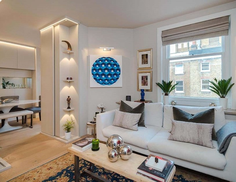 Apartment sold subject to contract in Chiltern Street view1