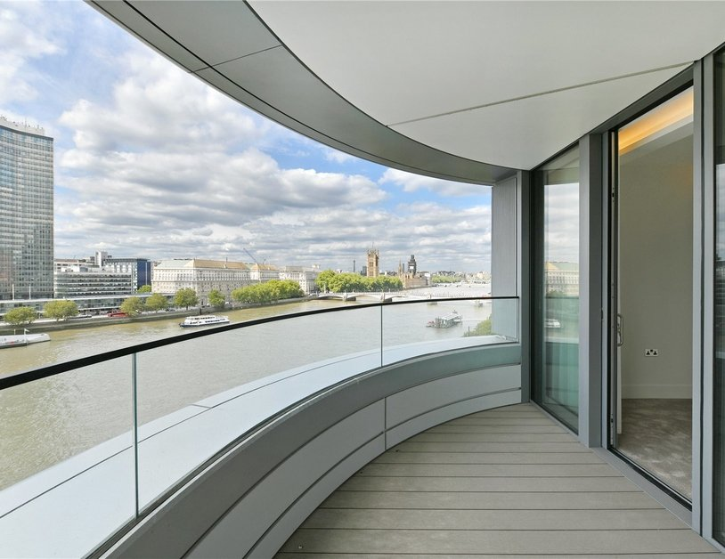 Apartment to rent in Albert Embankment view1