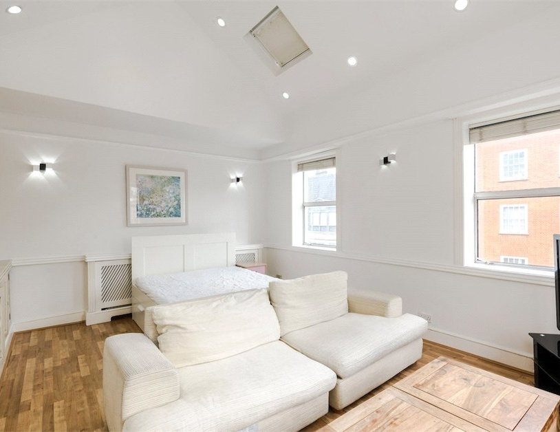 Studio Flat to rent in Devonshire Street view1-thumb